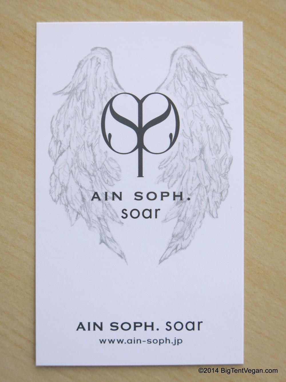 Ain Soph Soar