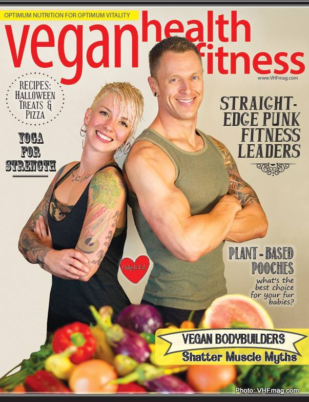Subscription to  Vegan Health and Fitness Magazine .