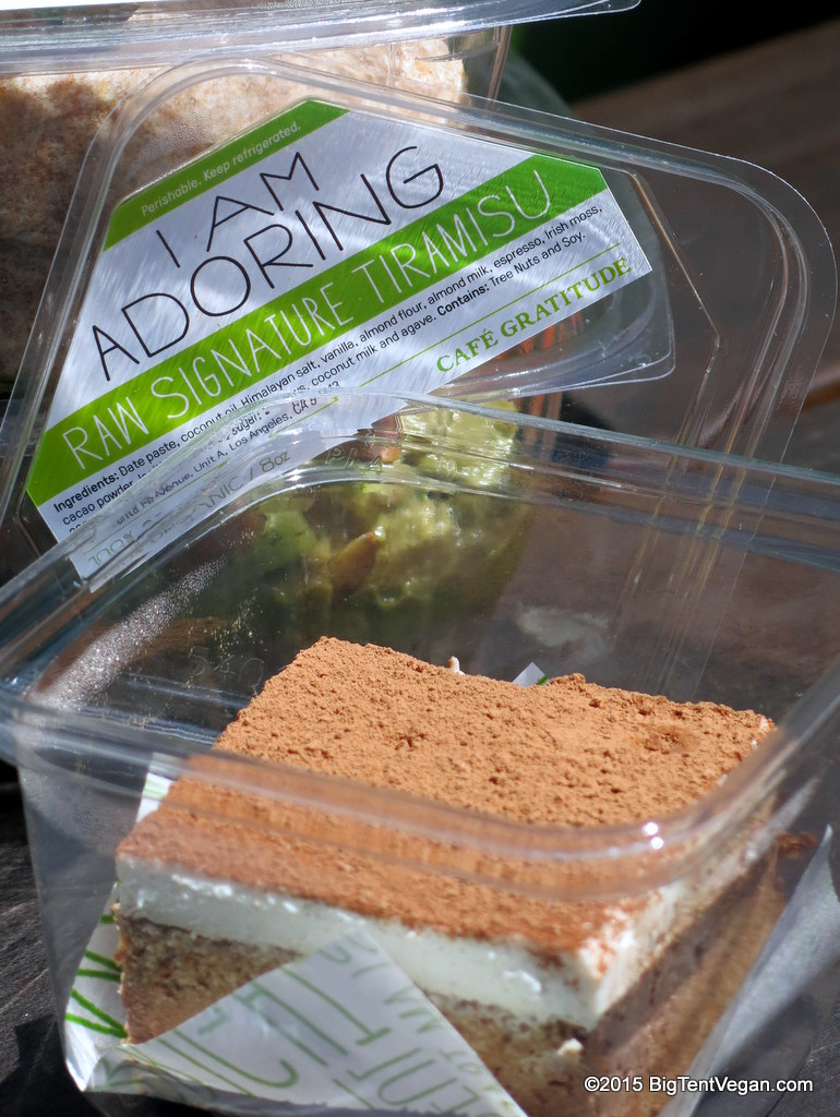 "Raw Vegan Signature Tiramisu: ""I Am Adoring"""
