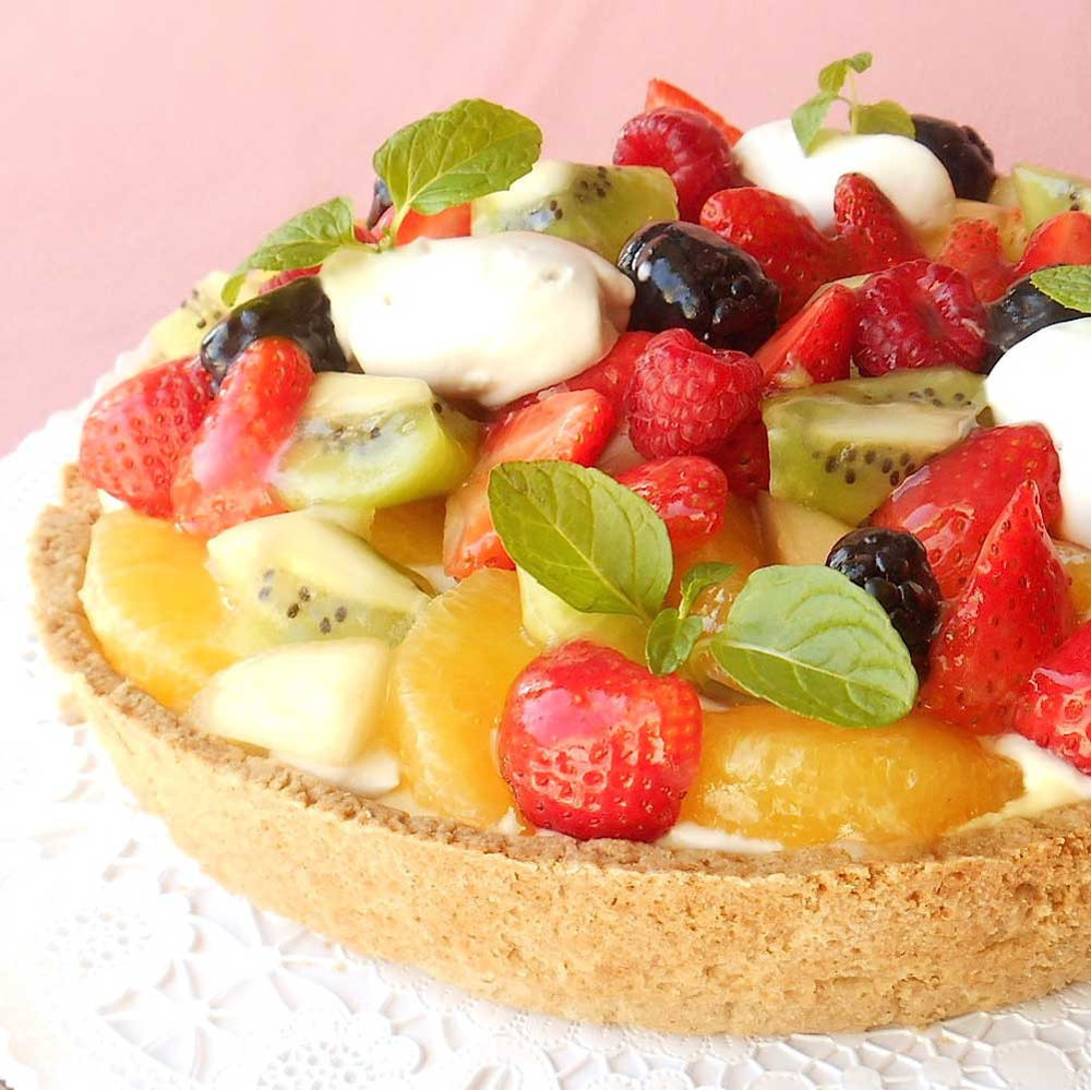 Fresh Fruit Tart from Pomegranate