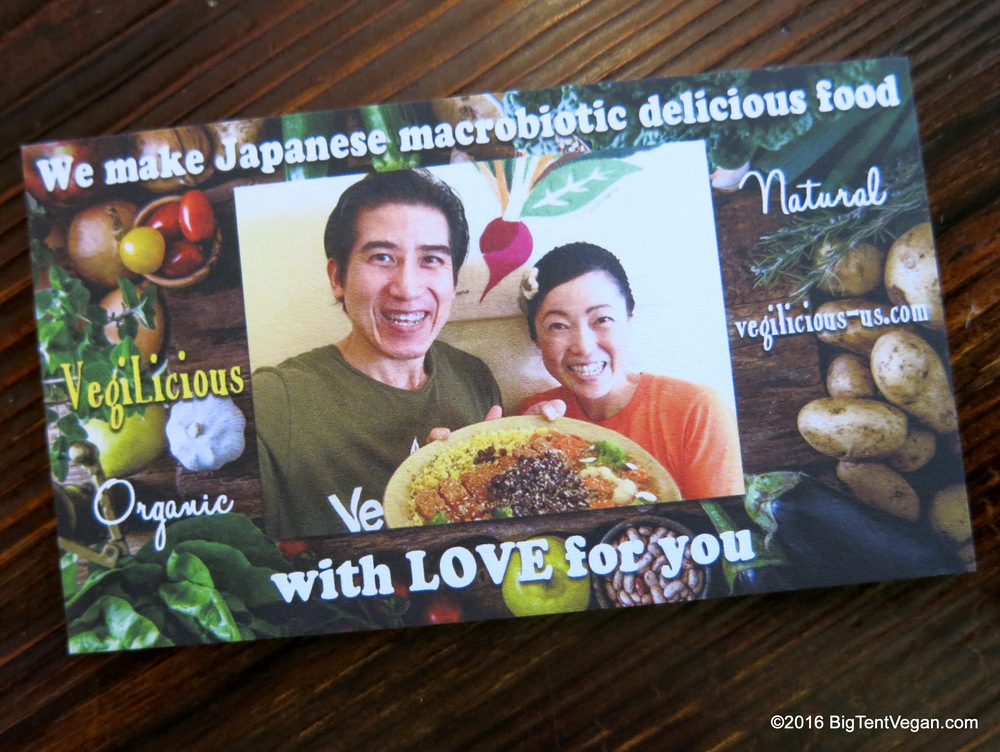 Chef Akira Nakao and his wife Ana of Vegilicious (Huntington Beach, CA, USA)
