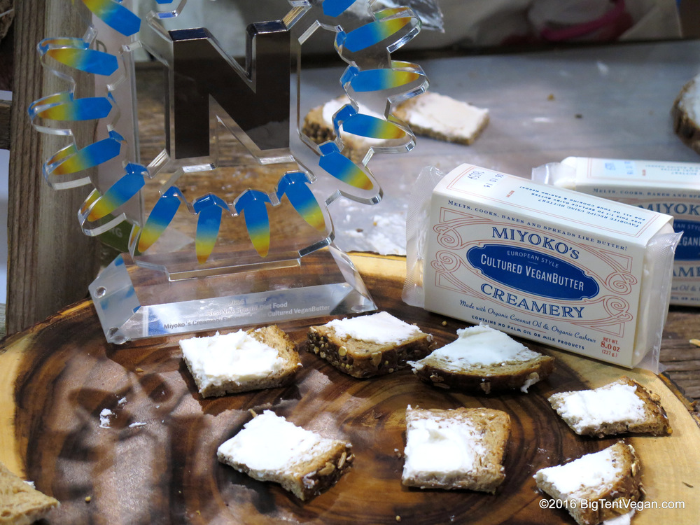 Congrats to Miyoko's Creamery on winning a Nexty for their new Cultured Vegan Butter.