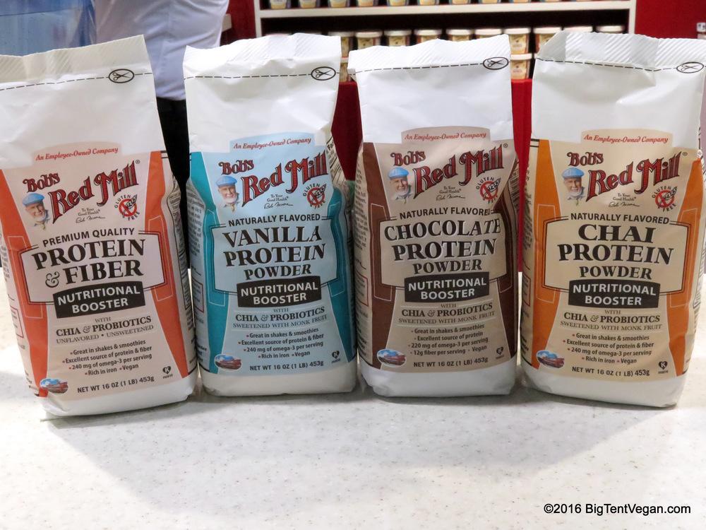 Bob's Red Mill Vegan Protein Powders
