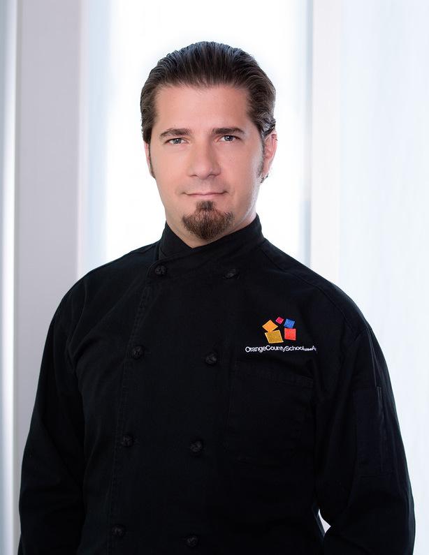 Daniel Mattos , Chef Director of  Culinary Arts and Hospitality at Orange County School of the Arts  in Santa Ana, CA, USA