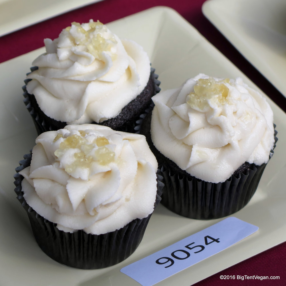 3rd Place: MIA BILELLO Chocolate Cupcakes with Butterscotch Frosting