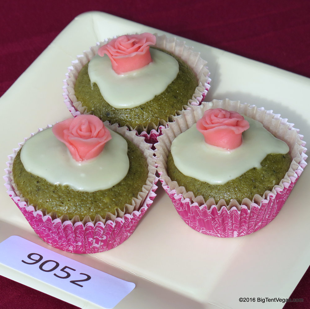 1st PLACE: SOPHIE SHAKA     Green Tea Cupcakes