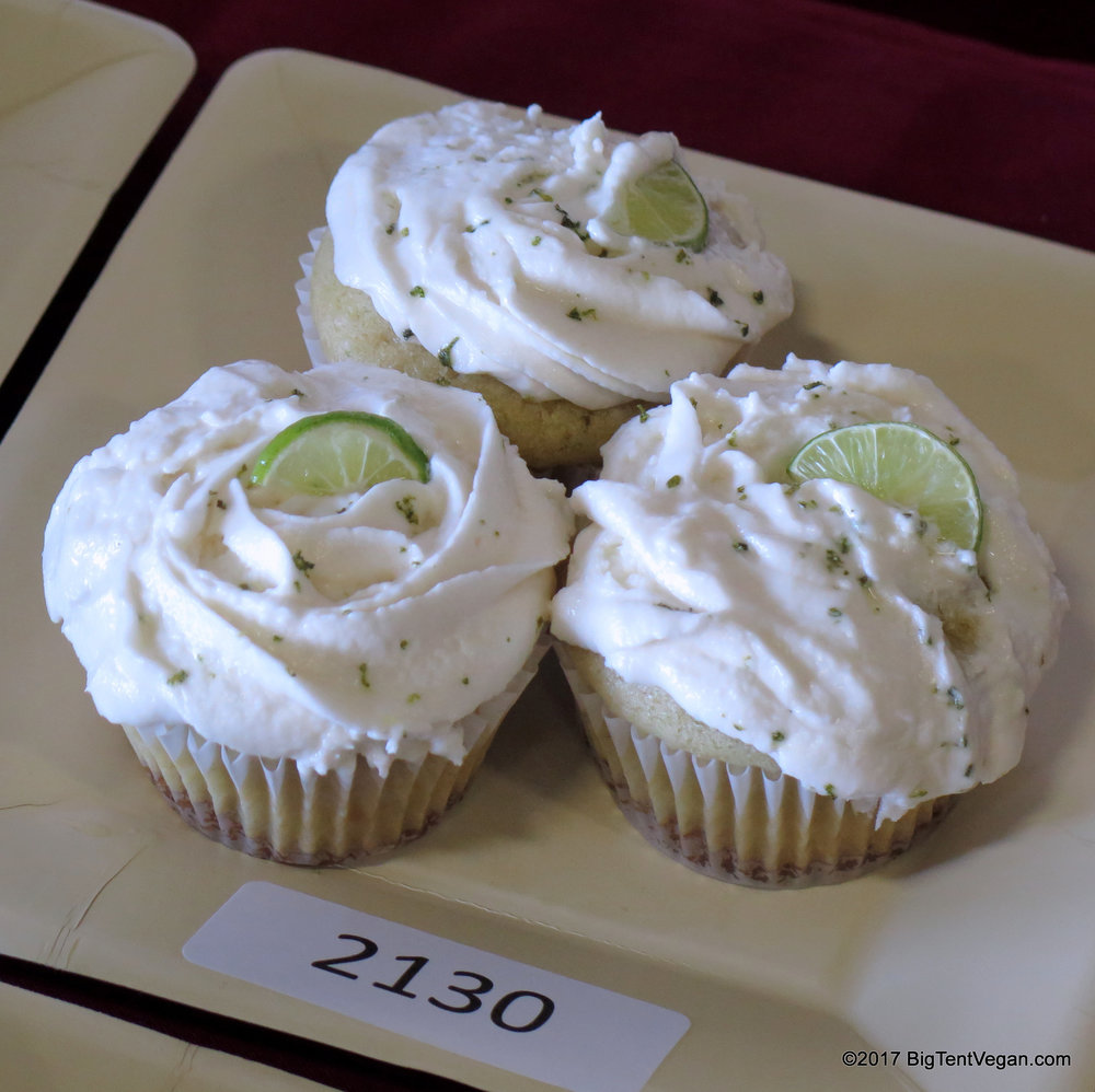 2nd Place: Mia Bilello -- Key Lime Cupcakes with Lime Infused Frosting