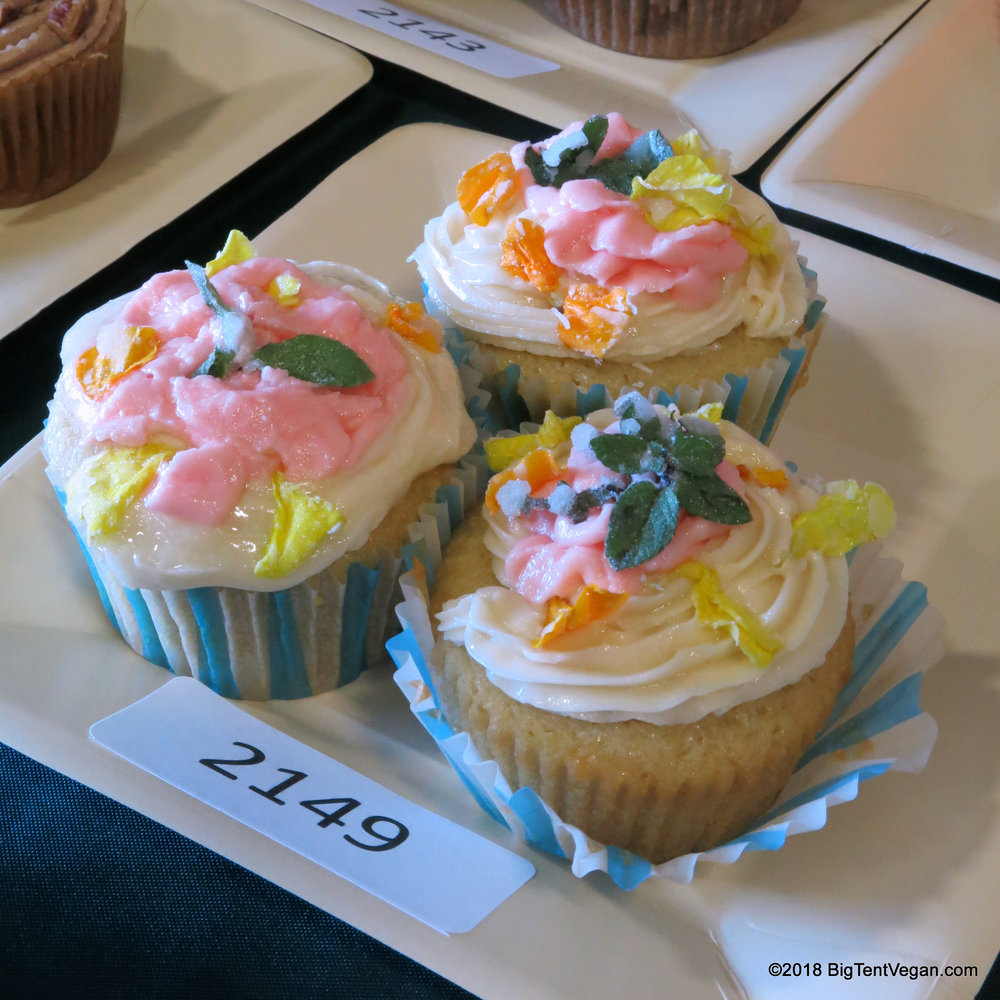 3rd Place: Victoria Ernst     Hint of Chocolate Mint Cupcakes