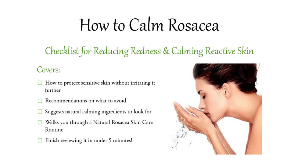 How to Calm Rosacea Checklist