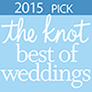 The Knot Best of Weddings 2015 Logo