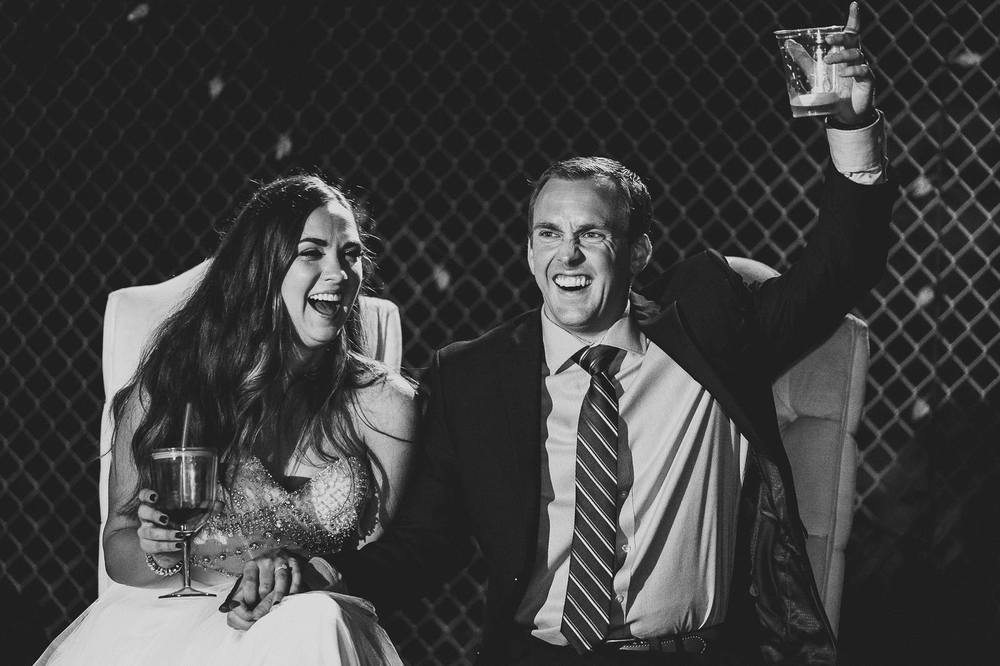 bride-groom-cheers