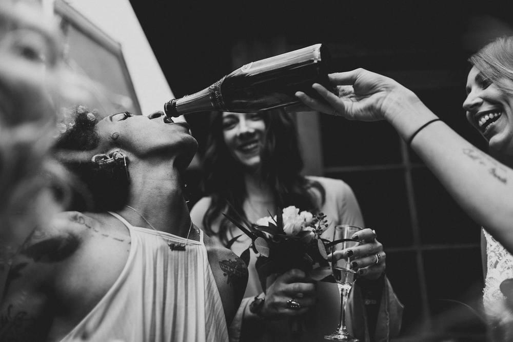 bridesmaid-partying-wedding