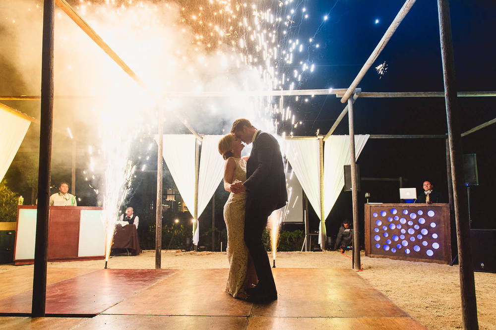 bride-groom-fireworks-dance