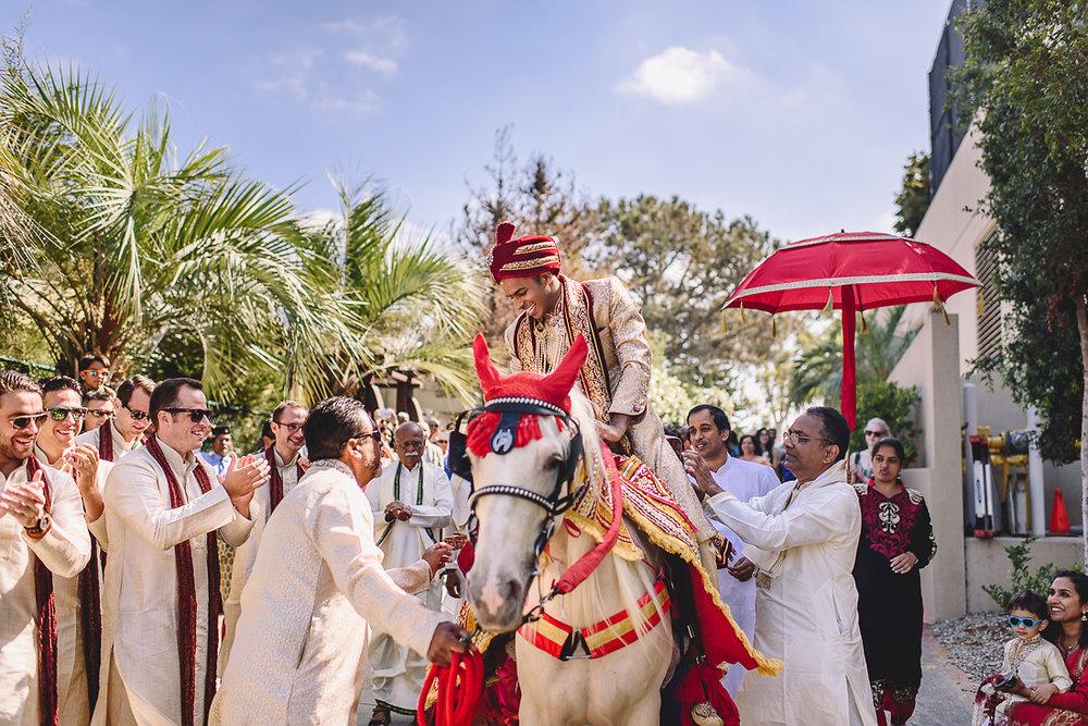 La Jolla Indian Wedding