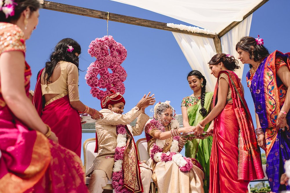 La Jolla Indian Wedding