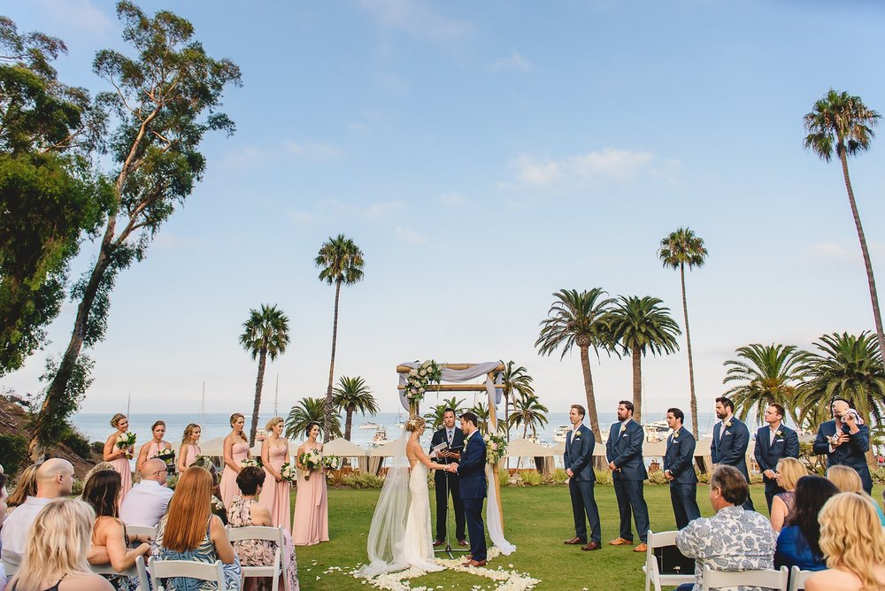 Descanso Beach Club Wedding Photos