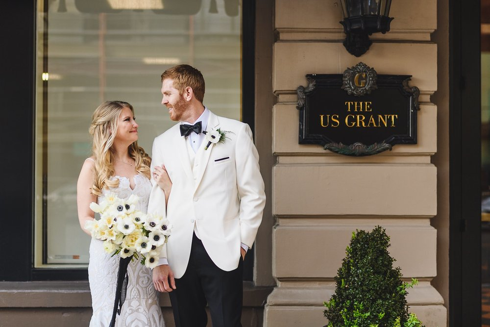 The US Grant wedding