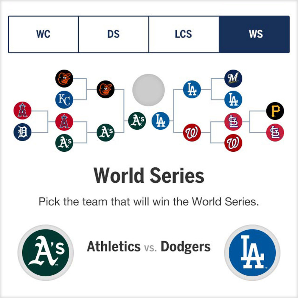MLB Postseason Bracket Challenge