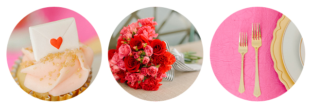 Valentines Wedding Inspiration by Oh Hello Events
