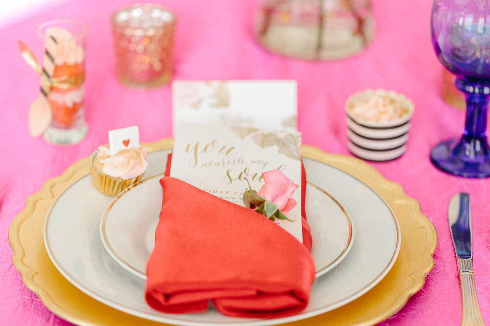 Wedding Tablescape - Oh Hello Events, Tampa