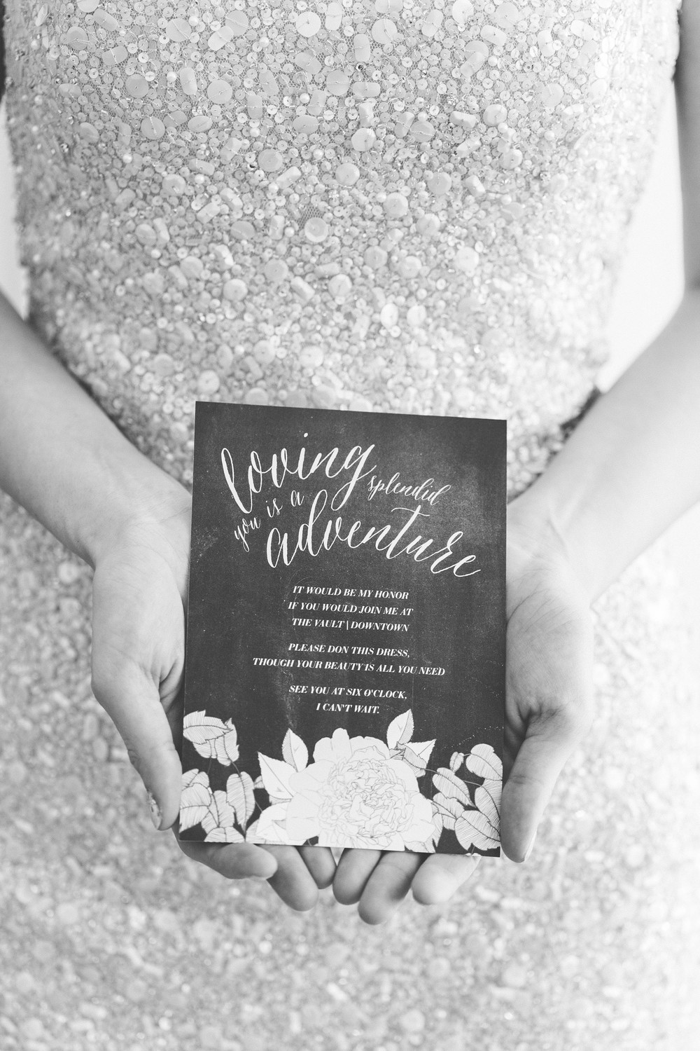 Black and White Wedding Inspiration - Oh Hello Events, Tampa Wedding Planner