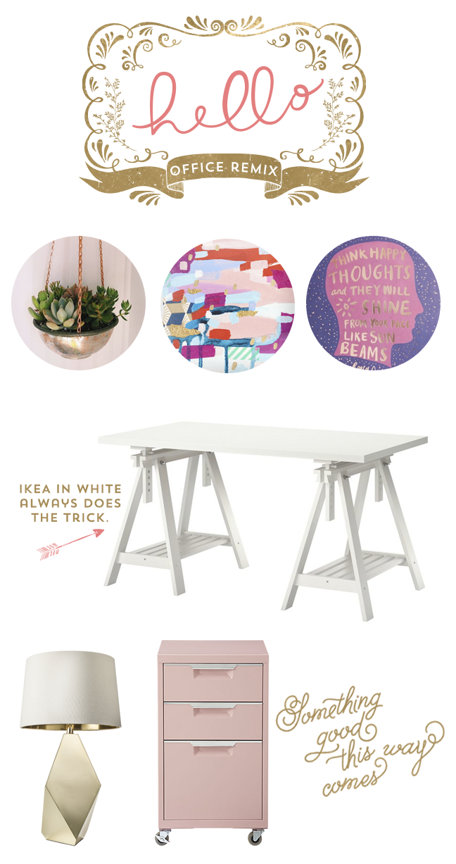 Home Office Ideas, Oh Hello Events