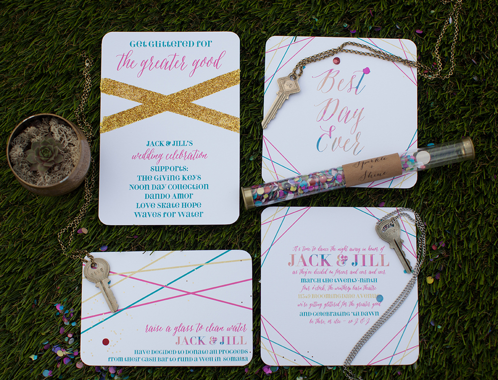 Wedding Invitations by Oh Hello Events