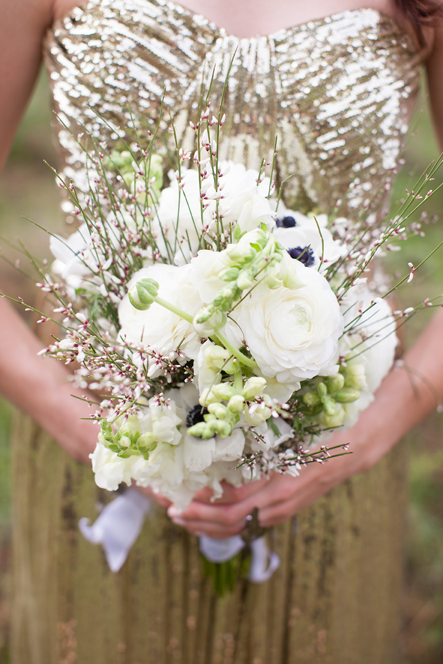 Black Sheep Bride Flowers and Bride