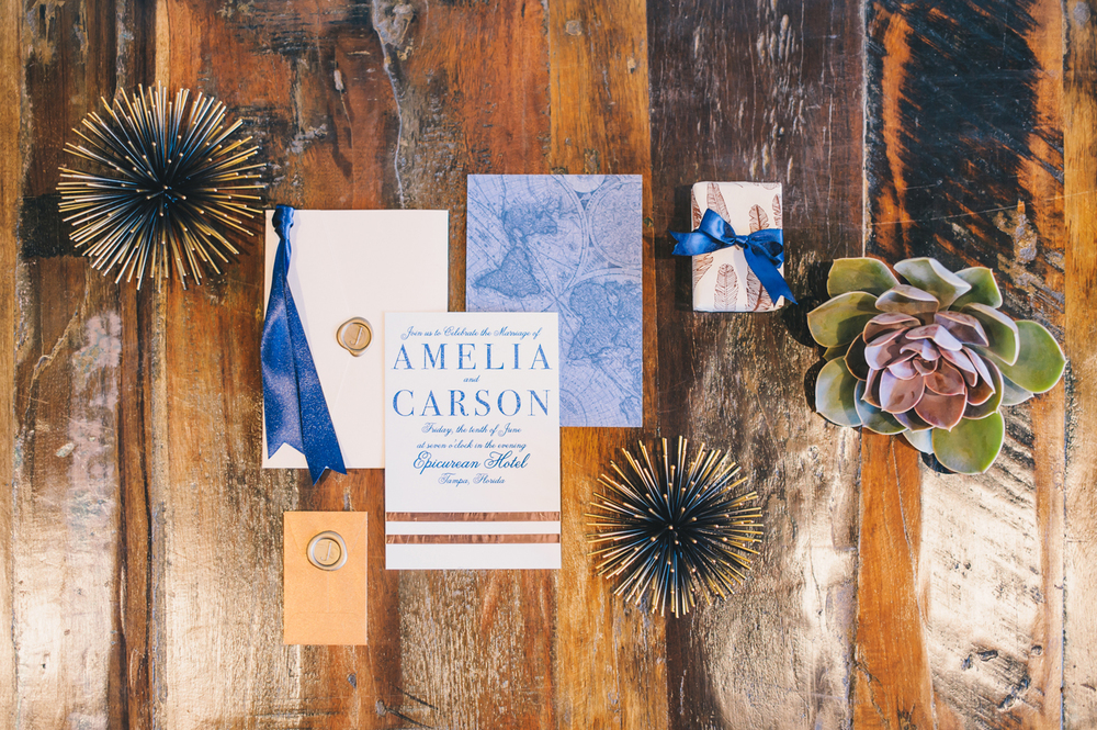 Refined Rustic Wedding Invitations by Oh Hello Events, Angel He Photography 2014