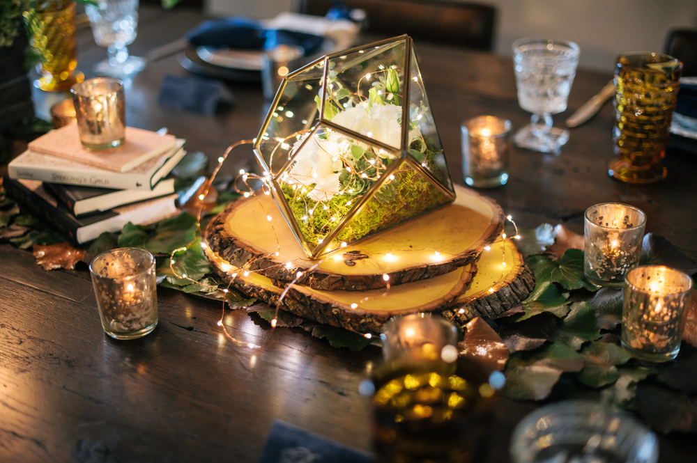 Illuminated Terrarium by Showorks Events & Oh Hello Events, Tampa, FL. Angel He Photography 2014