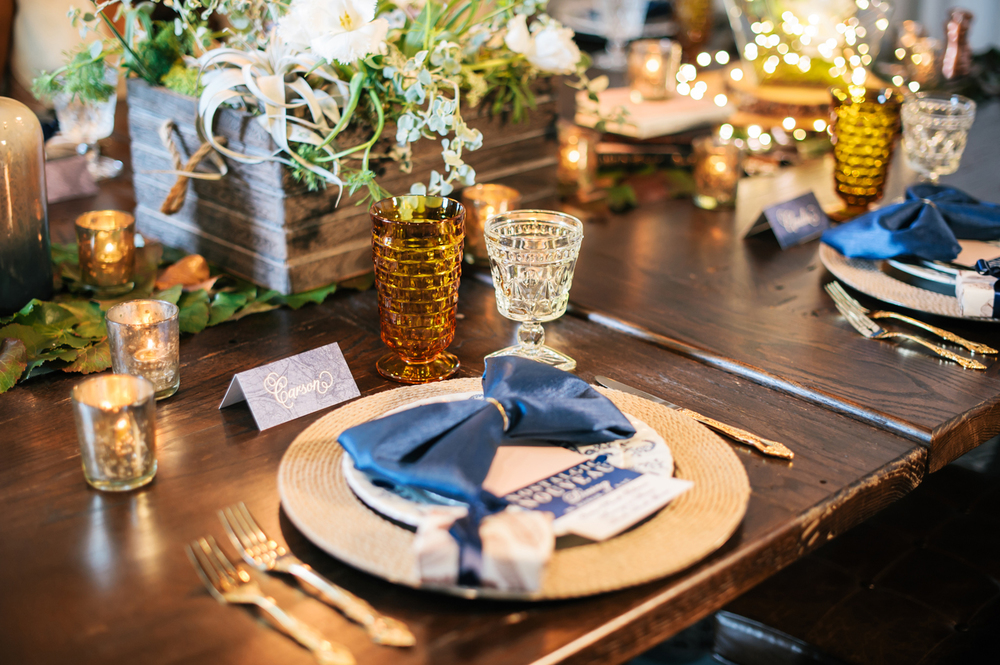 Illuminated Textures Tablescape, Showorks Events, Oh Hello Events, Angel He Photography 2014