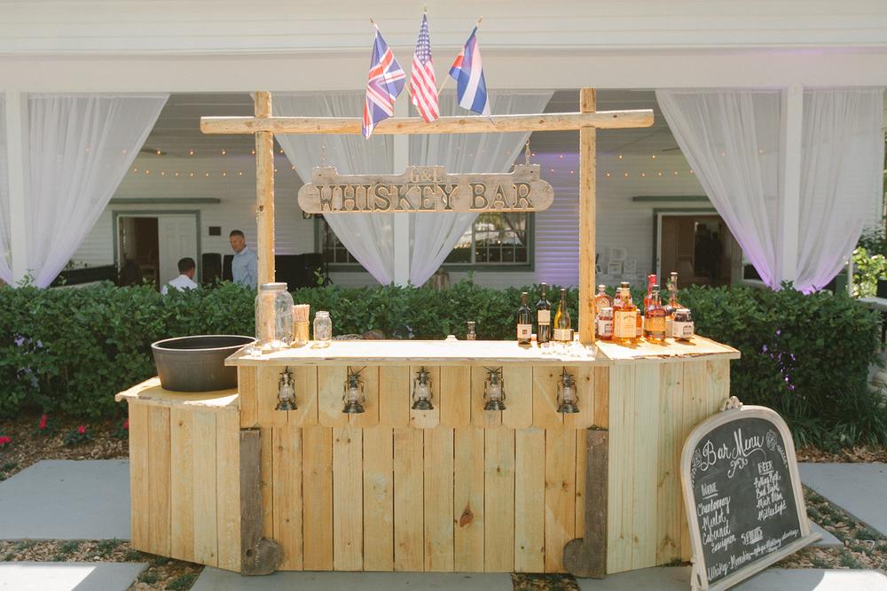 Custom Wedding Bar, Oh Hello Events, Tampa, FL