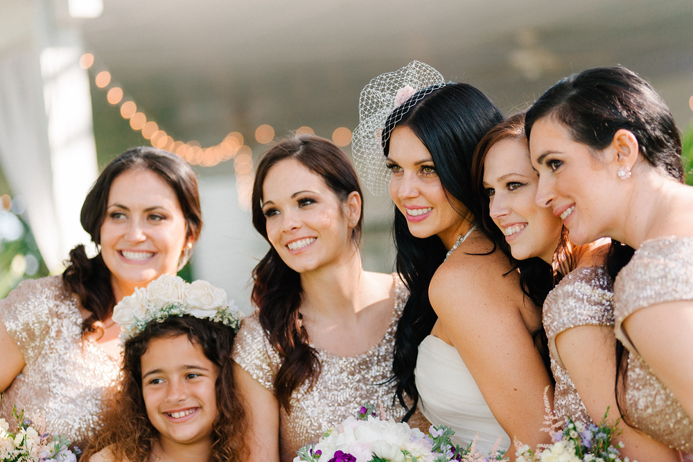 Modern Vintage Bridal Party, via Oh Hello Events, Tampa, FL