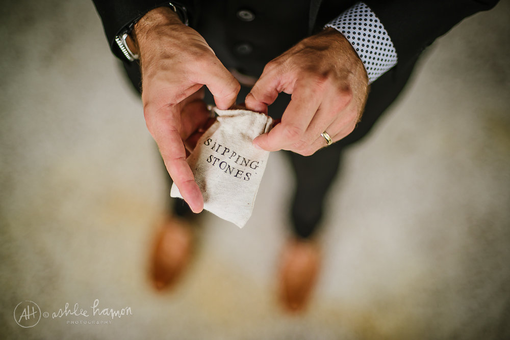 Skipping Stone Wedding Favors