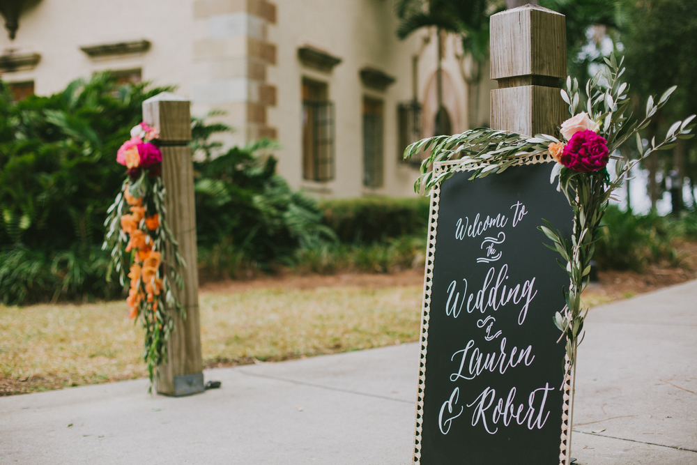 Welcome Wedding Sign Oh Hello Events, 2Birds Events, Jessica Charles Photography