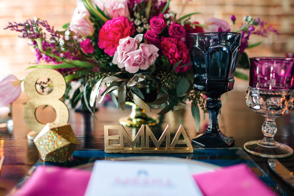 Modern Love Wedding Ideas, Tampa, via Oh Hello Events