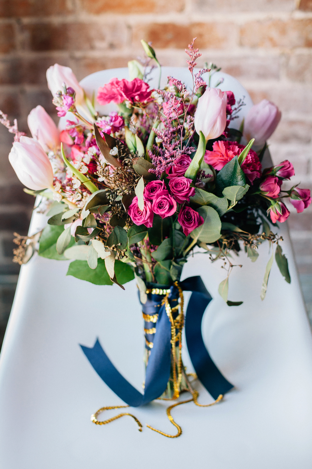 Modern Fuchsia and Navy wedding by Oh Hello Events, Tampa, Florida