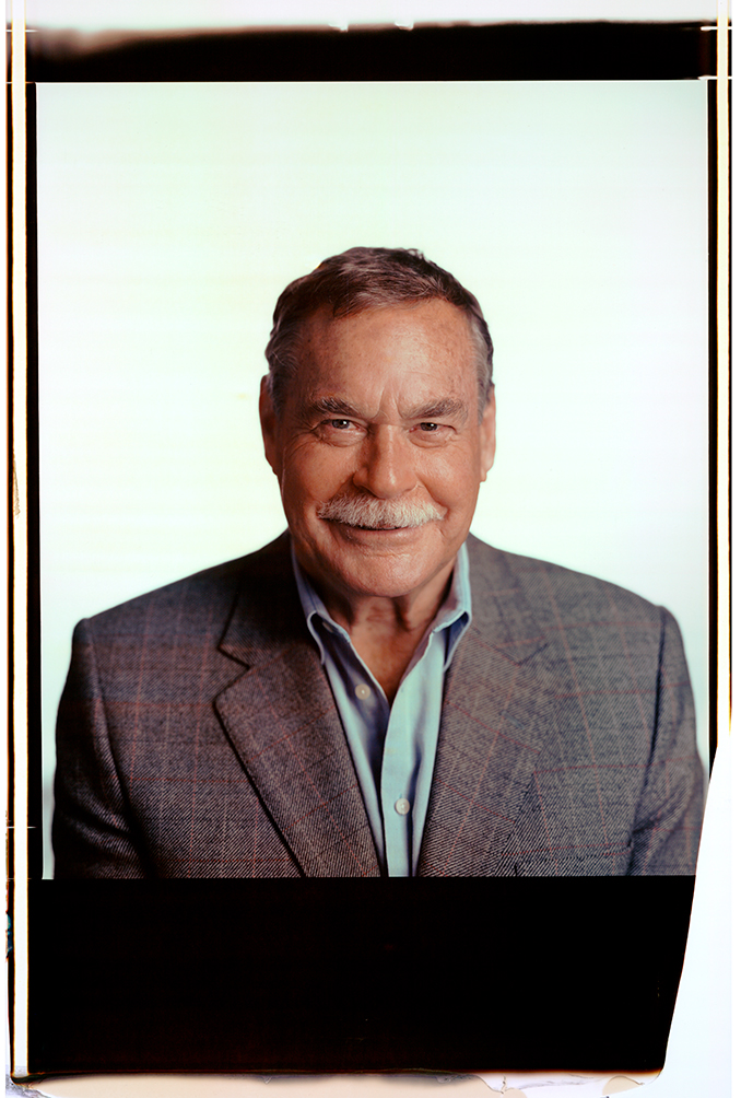 Ron Barassi, The Asthma Foundation Of Australia (20 x 24 Polaroid)