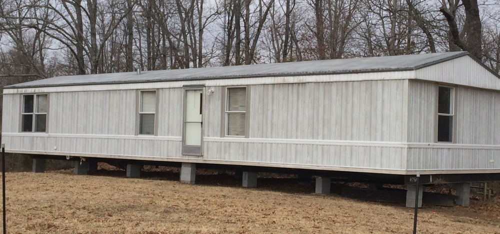 The mobile home is at the farm brood farm for Farmhouse mobile home