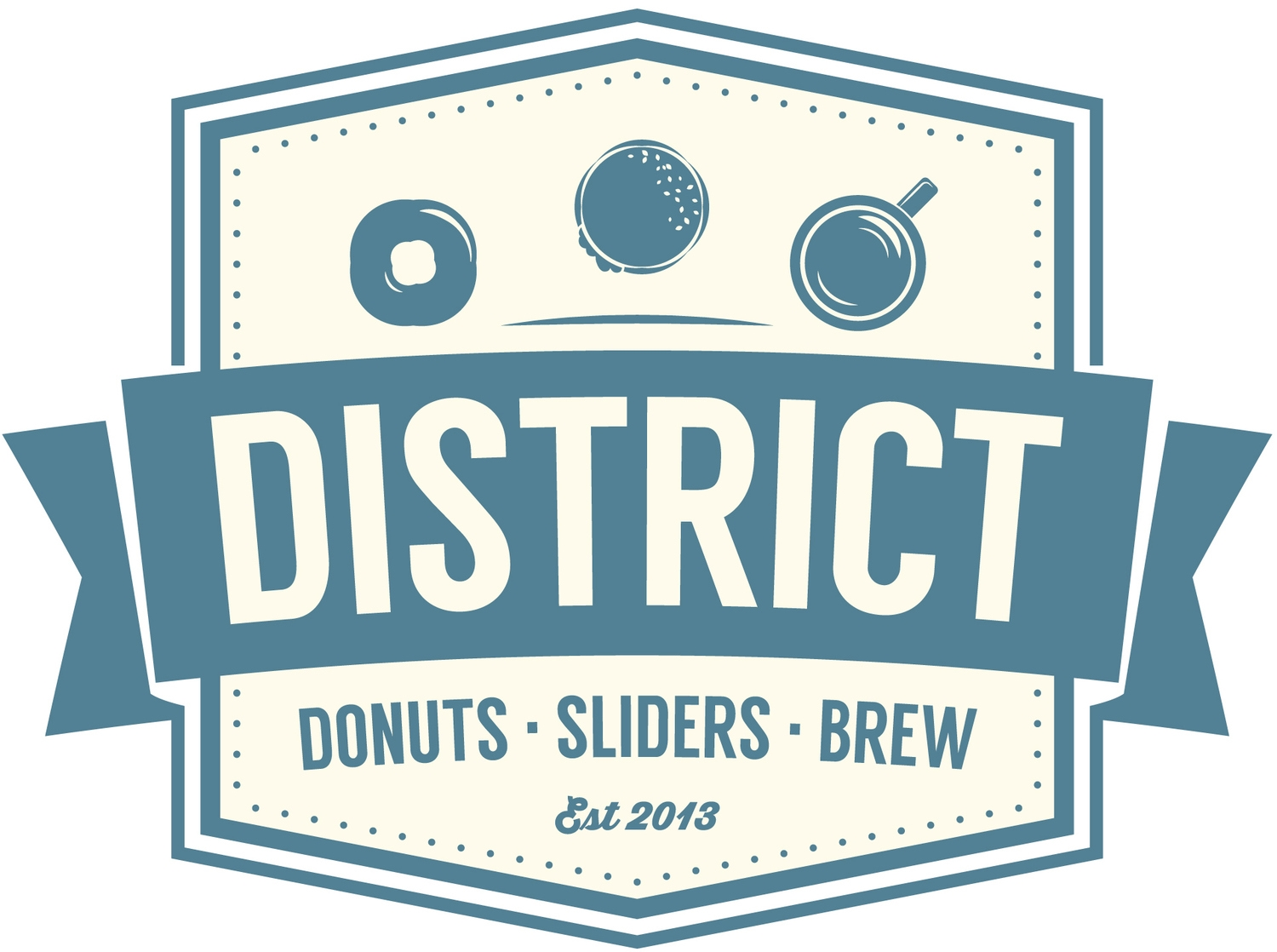 District: Donuts.Sliders.Brew