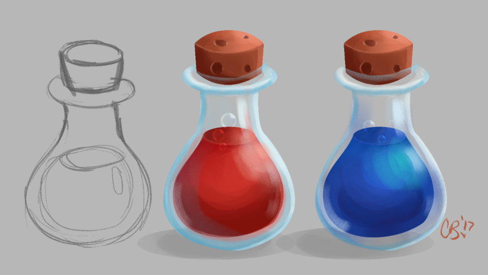 Potion Item Render