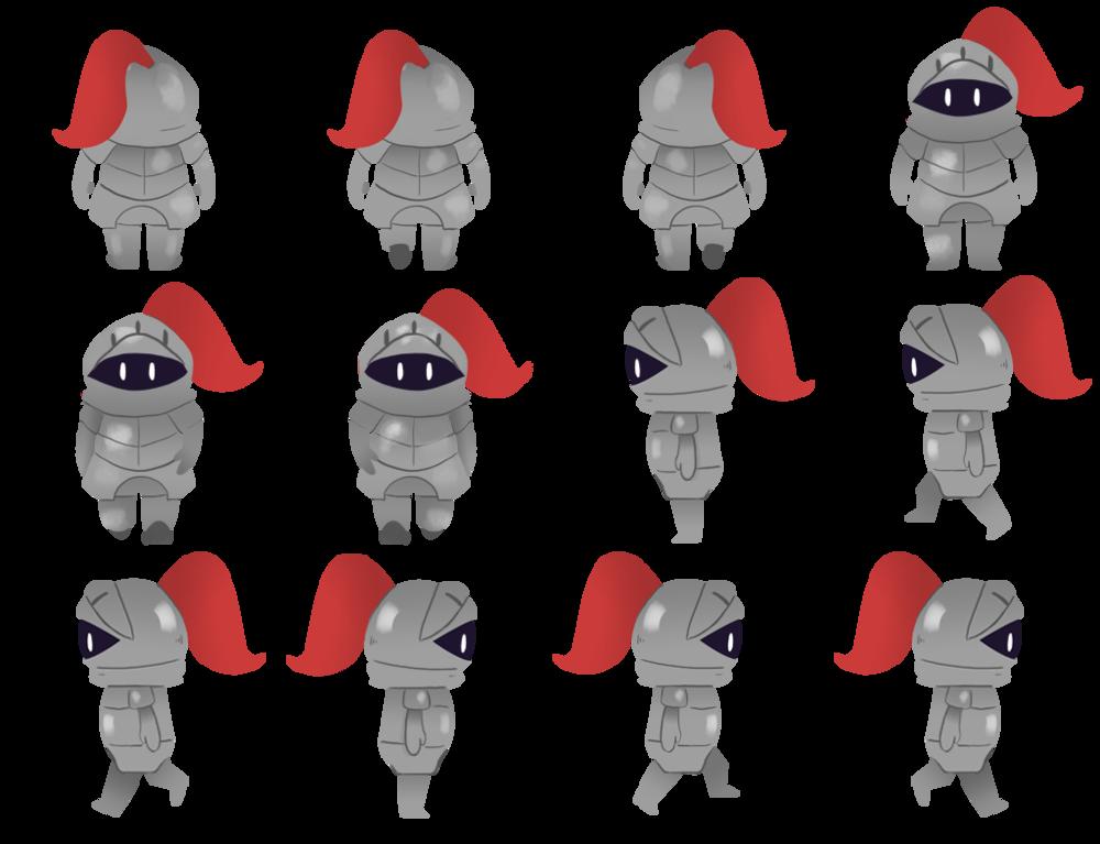 Knight Spritesheet