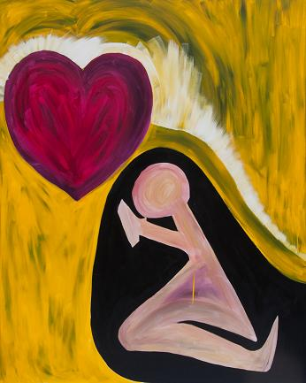 Erika Rachel - Begging For Love 48x60 2013