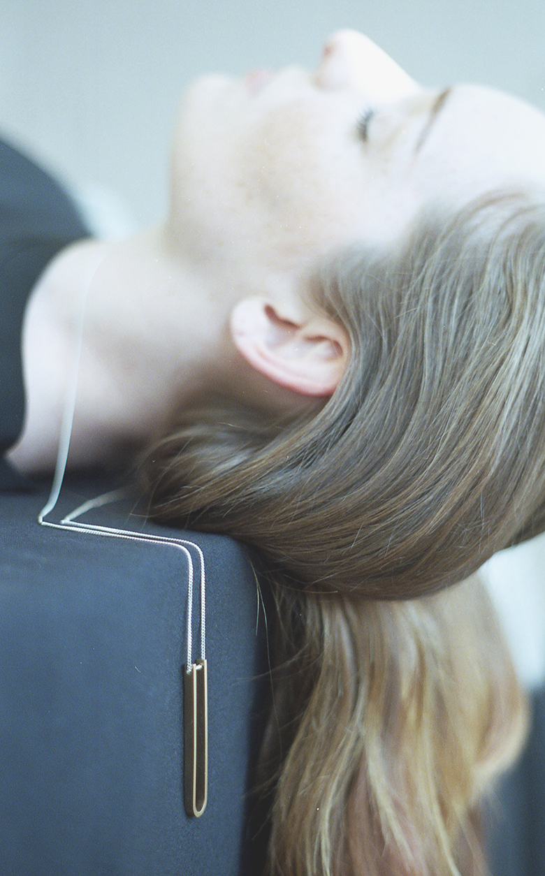 Arc Jewellery - Linearity lookbook - Tune Necklace
