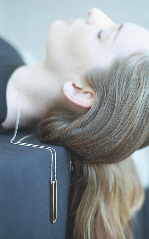 Arc Jewellery - Linearity lookbook - Tune Necklace