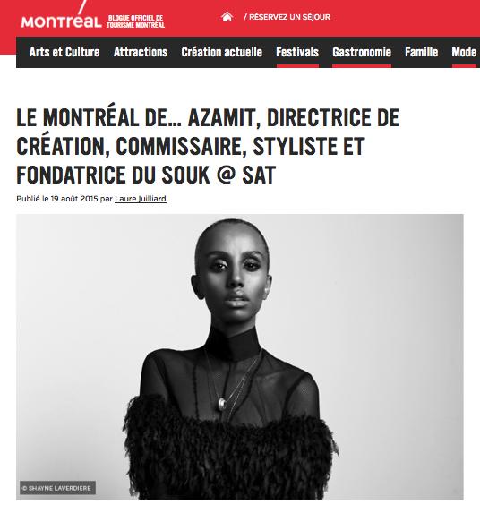 Azamit's Montreal - Tourisme Montreal