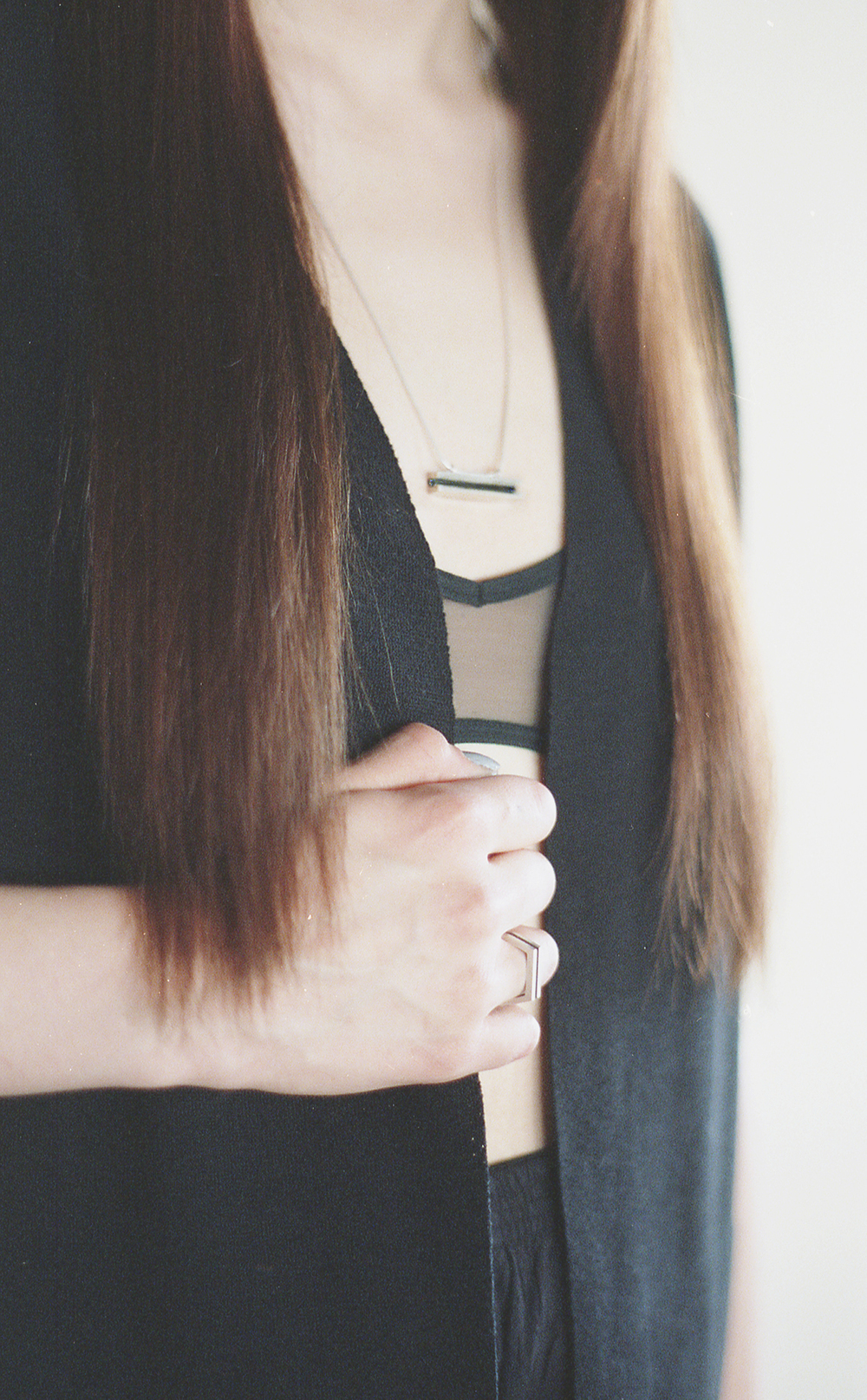 Arc Jewellery - Vacancy Lookbook - Parallel Necklace and Ring
