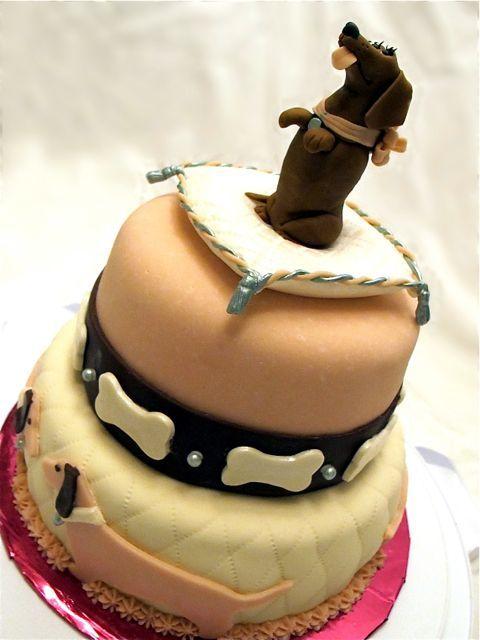 dachsund cake1