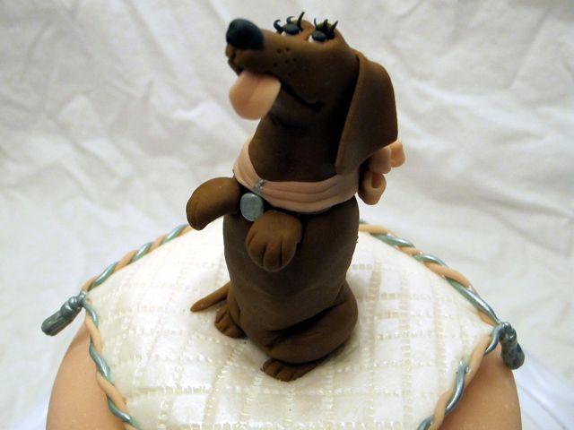 dachsund cake3