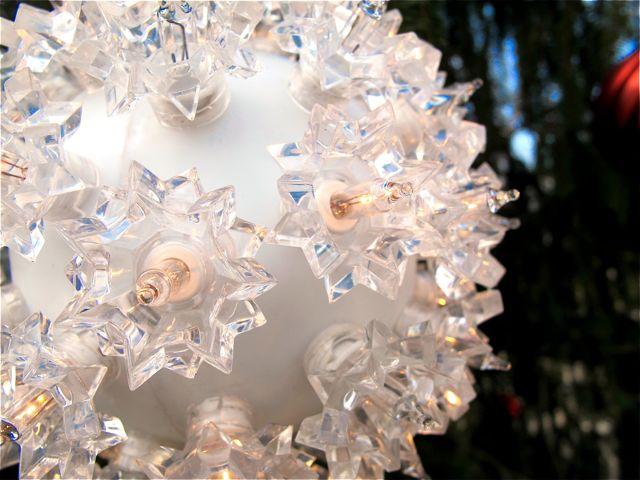 lit ornament